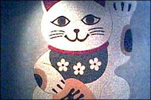 nobu bathroom kitty